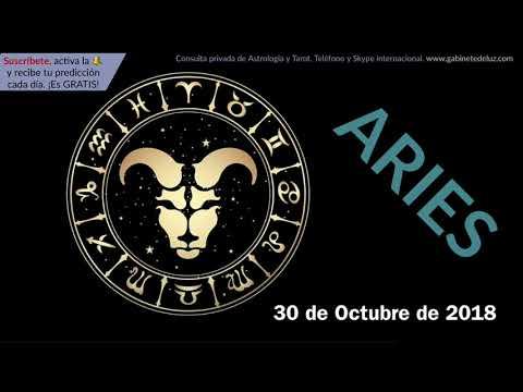 Horóscopo Diario - Aries - 30 de Octubre de 2018