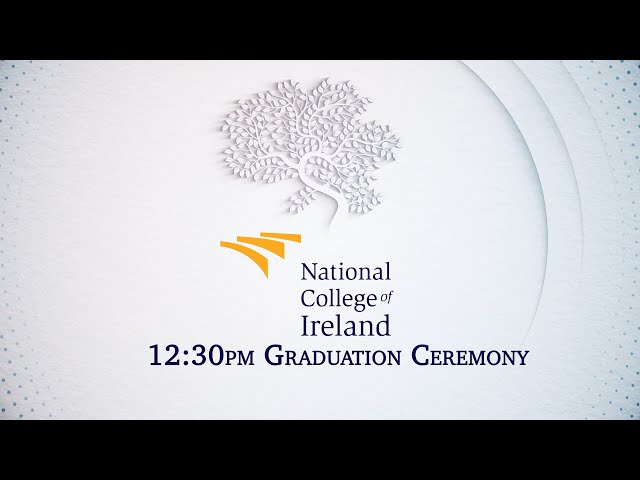 Virtual Graduation - 12:30pm - 26th November 2020