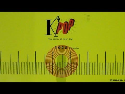 K-POP Radio 1020 Los Angeles 1957 - Vintage Memorabilia
