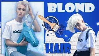 Как покрасить Волосы в БЕЛЫЙ 🖌/ BLOND HAIR 💇🏼/ Stas Mileev(Всем привет) Это видео будет о том, как я крашу свои волосы!     Вы давно просили меня рассказать вам, как..., 2016-08-31T09:00:00.000Z)