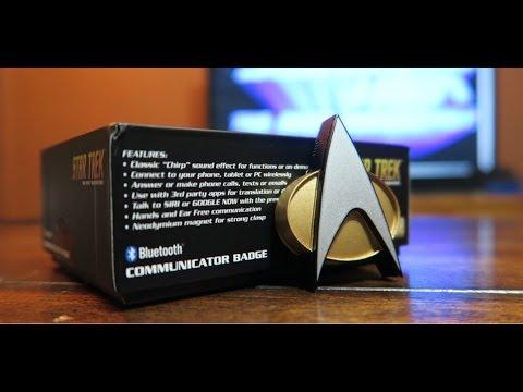Star Trek Bluetooth ComBadge Actual Usage Review : startrek