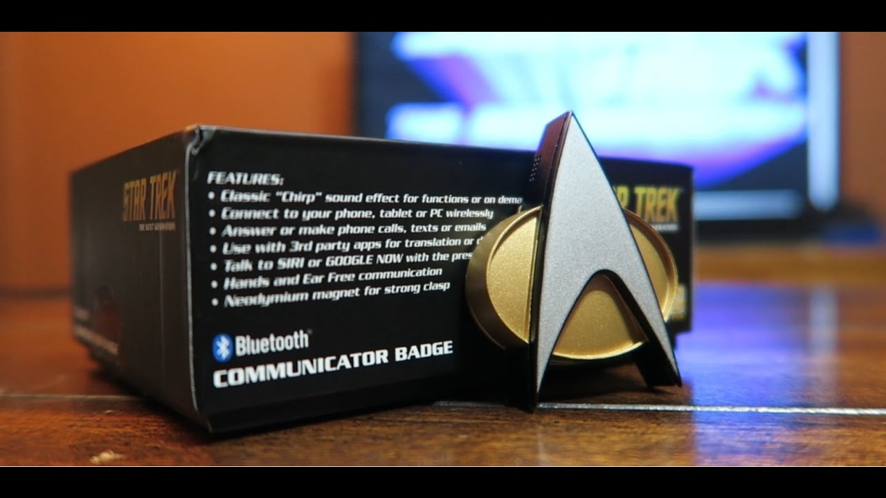 This Bluetooth Star Trek ComBridge turns fantasy to ...