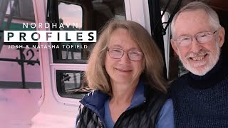 "Interview with Josh and Natasha Tofield - Owners of Nordhavn 52 ""Samba"""