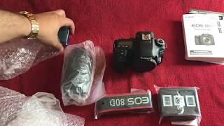 Canon EOS 80D unboxing - Lens 18-135mm Nano USM