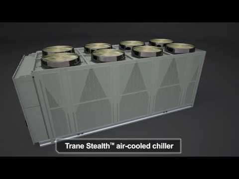 Trane® Stealth™ Air Cooled Chiller with...