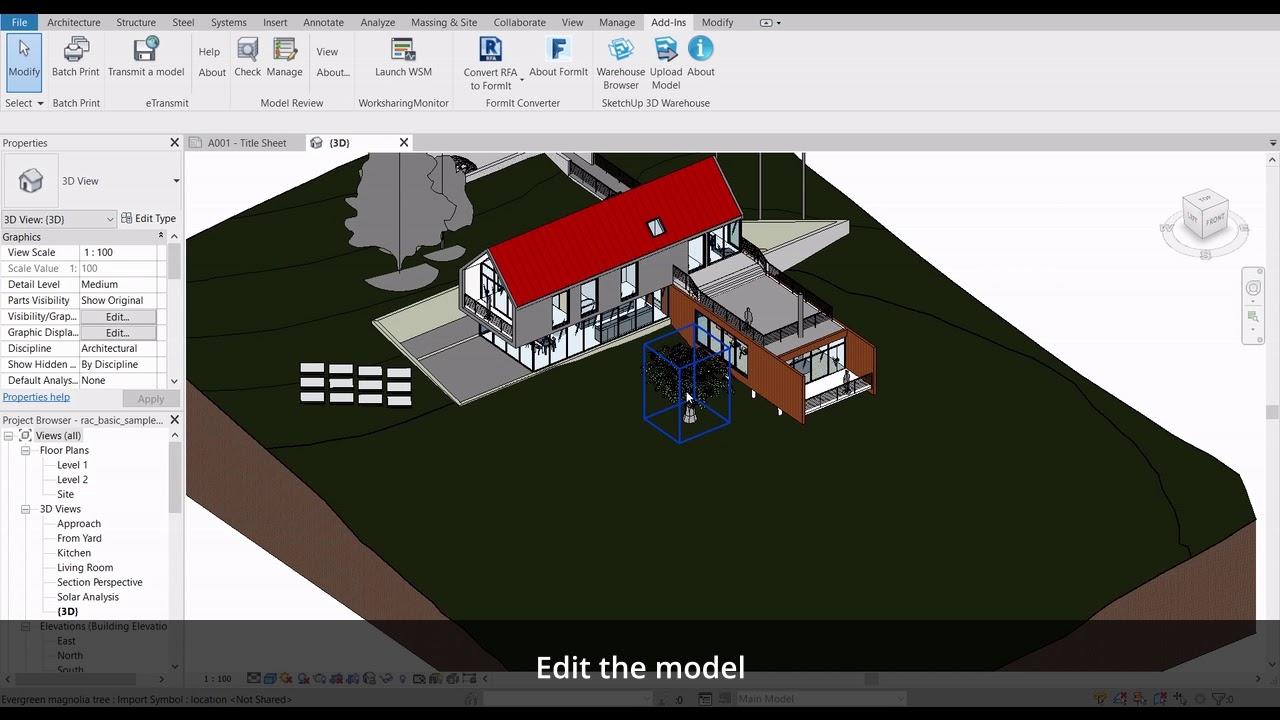 3DWarehouse-For-Revit™ | AMC Bridge