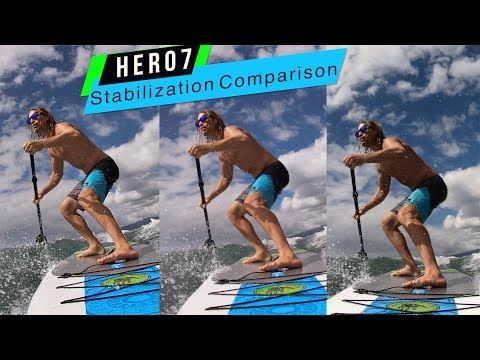 GoPro Hero7: White Silver Black Stabilization Comparison! - GoPro Tip #639 | MicBergsma