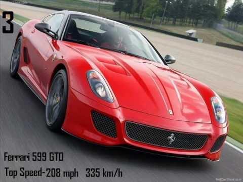 Top 10 Fastest Ferrari Cars
