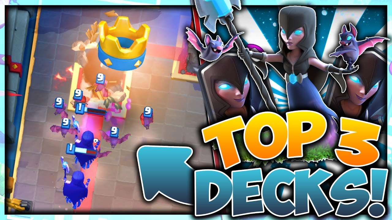 night witch clash royale deck
