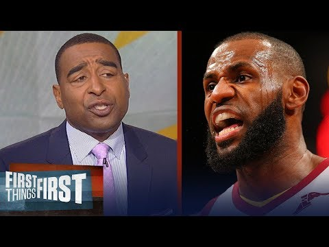 Cris Carter on why this playoff run is the hardest LeBron James has ever faced | FIRST THINGS FIRST