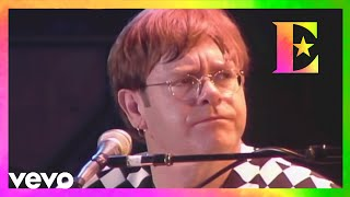 Elton John - Honky Cat (Estadio do Flamengo, Rio, Brazil 1995)