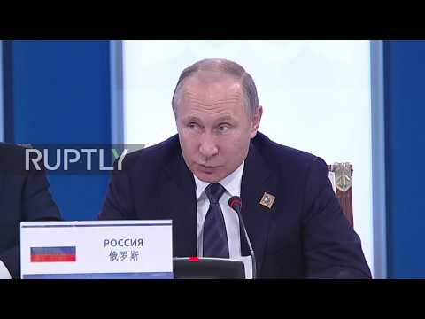 Kazakhstan: Putin bemoans negative effect of US internal politics during of SCO meeting