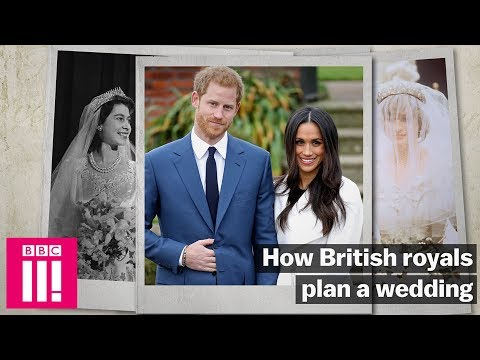 How The Royal Family Plans A Wedding