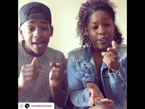 Lisandro Cuxi et sa soeur Soraia Ramos chante One Dance de Drake (cover)