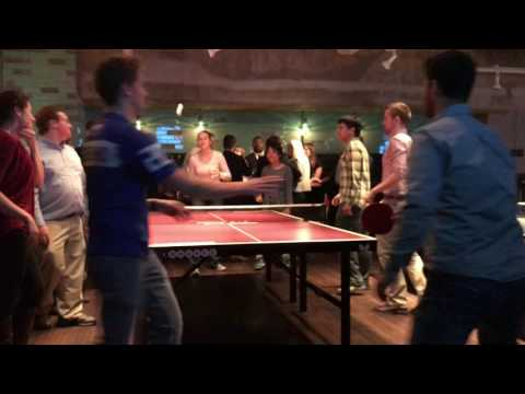 Dickinson Group around the world ping pong