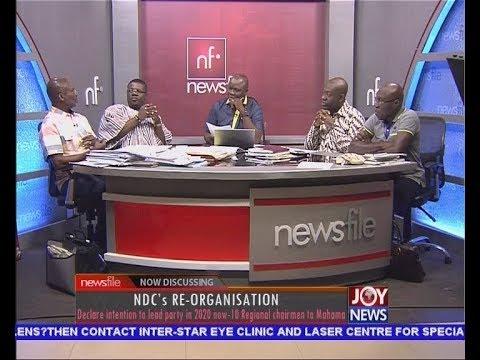 NDC's Re-organisation - Newsfile on JoyNews (11-11-17)