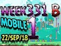 Angry Birds Friends Tournament Level 1 Week 331 B MOBILE Highscore POWER UP Walkthrough mp3