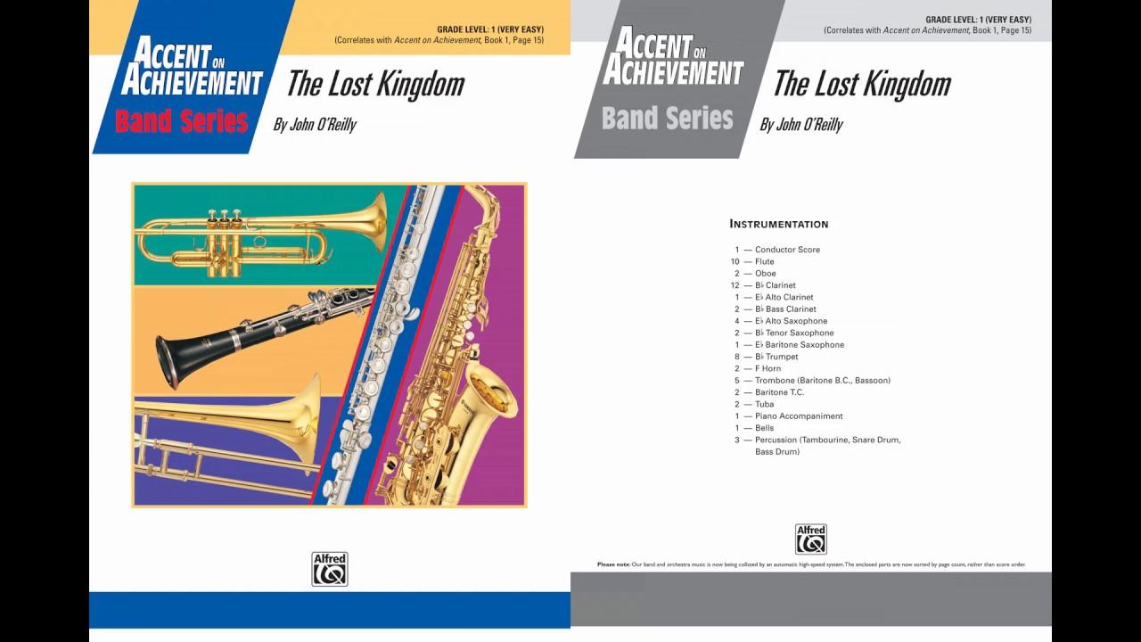Accent On Achievement Book 1 Trumpet