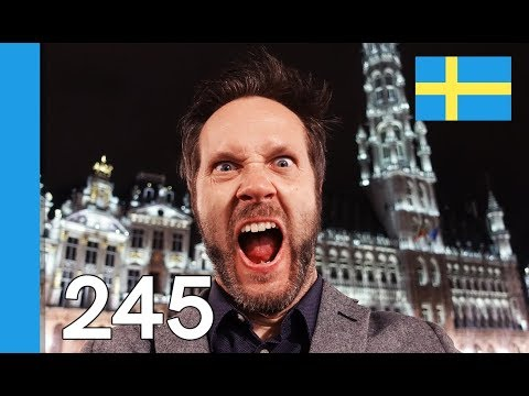 Learn Swedish - What Belgium is famous for - 10 Swedish Words #245