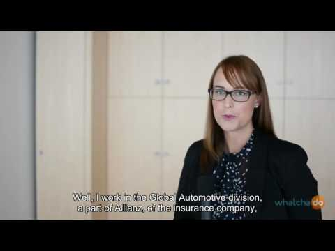 Maja Wiesner - Sales Controlling Global Automotive, Allianz Versicherungs AG