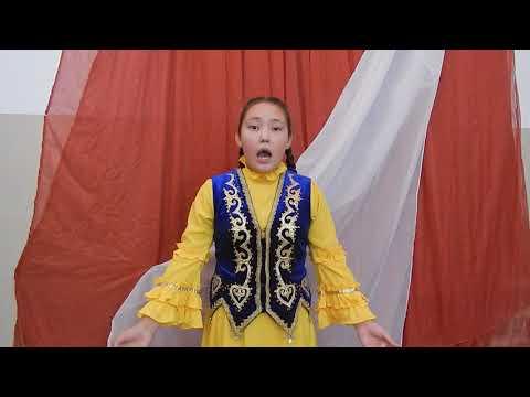 Давлетова Элина, 12 лет, 7 класс, Номинация «Стихотворения на родном языке»