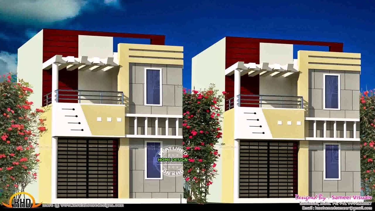 Modern Row House Design Philippines Modern Row
