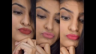 Lakme 9 to 5 weightless mousse matte lip and cheek colour Review