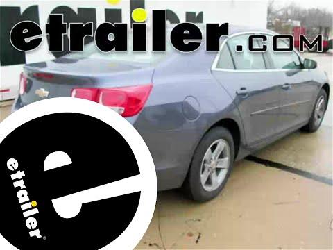 Trailer Hitch Installation - 2015 Chevrolet Malibu - Curt - Etrailer.com