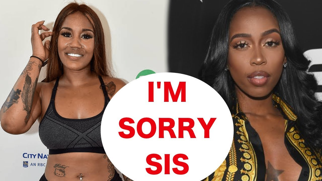 Johnny Blaze tells Kash Doll SORRY for getting GIRLS & MEN to come for her  rap career
