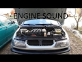 Renault Laguna engine sound 2.0 16v F4R