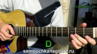 С. Трофимов - Ах эти ночи (кавер) Разбор песни на гитаре, Аккорды