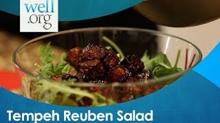 Simple Tempeh Reuben Salad With Summer Bock And Robyn Youkilis