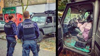 HATER zerstört G-KLASSE - Einbruch mit 9.500€ Schaden | Fritz Meinecke