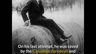 BOBBY LEACH- Daredevil Who survived a Niagara falls plunge but died after slipping on an orange pill