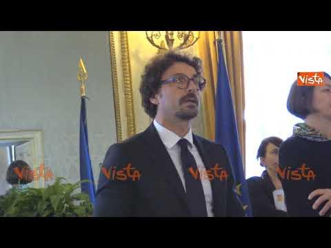 Toninelli: Il Decreto Genova è scritto con il cuore, non contestatelo