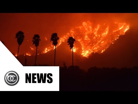 Massive Fire Burns Los Angeles | BREAKING NEWS