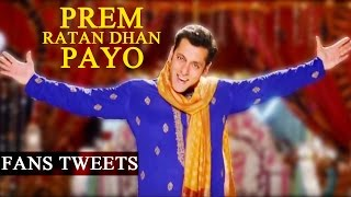 Prem Ratan Dhan Payo Official TRAILER releases | FANS REACT | TRAILER REVIEW