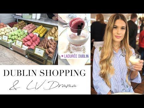 Dublin Luxury Shopping  & Louis Vuitton Drama | Vlog