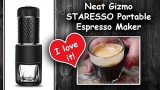 Neat Gizmo || STARESSO || Portable Espresso Maker || ⭐⭐⭐⭐⭐