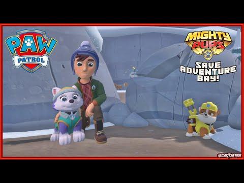 PAW Patrol Mighty Pups Save Adventure Bay Walkthrough Gameplay Jake's Resort Everest Kids True TV