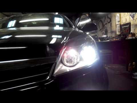Opel Astra H пример света