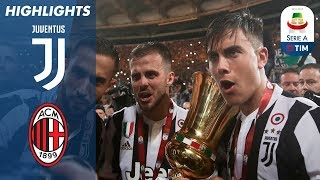 Juventus - Milan 4-0 - Highlights - TIM Cup 2017