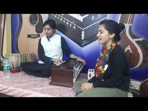 USTAD AMIR AHMED KHAN MUSIC ACADEMY GAZAL RANJISH HE SAHI BY OUR STUDENT SANDHIYA