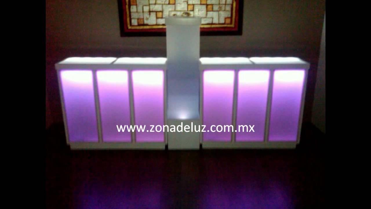 Barras iluminadas youtube - Barra de bar salon ...