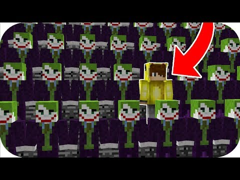 HANGİSİ GERÇEK JOKER? - Minecraft