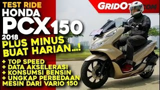 Honda PCX 150 2018 l Test Ride Review l GridOto