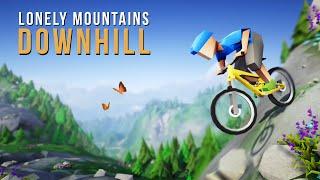 Jogo Tranquilo, Charmoso e Relaxante | Lonely Mountains Downhilll Gameplay em Português PT-BR
