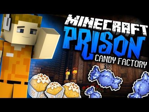 Minecraft: INFINITE AUTO CANDY FARM - Prison - Ep: 06 (Custom Candy Mod)