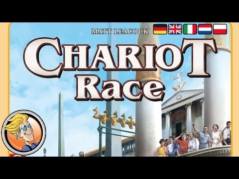 Chariot Race — game overview at SPIEL 2016 by designer Matt Leacock