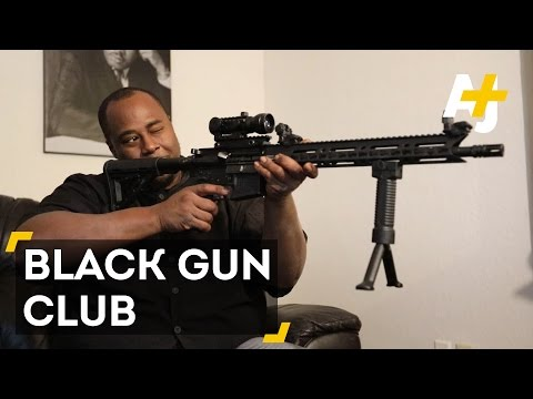 This Black Gun Club Is All About Open Carry